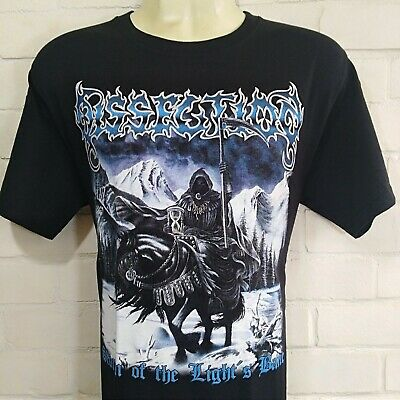 DISSECTION Storm Of The... BLACK T-SHIRT SIZE X-LARGE 100% COTTON YAZBEK BRAND
