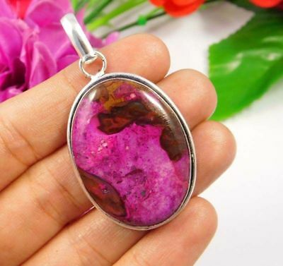 Gorgeous .925 Silver Plated Rock Calcy Designer Pendant Festival Gift JC3804