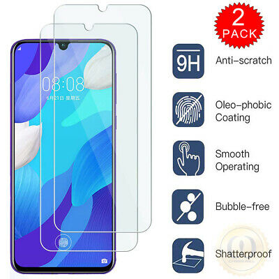 For Samsung Galaxy A10s - Clear HD Tempered Glass Film Screen Protector [2-Pack]