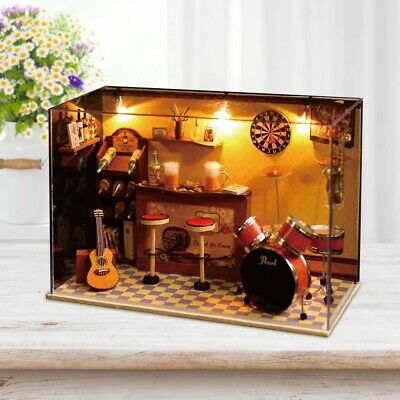 DIY Handwork Doll House Handcraft Miniature Project Kits Wooden Dollhouse Gifts