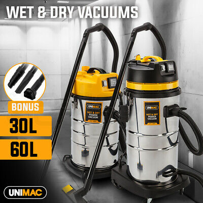PRESALE UNIMAC Wet And Dry Vacuum Cleaner Industrial Shop Workshop Water