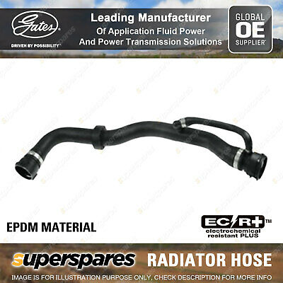Gates Radiator Curved Hose For BMW X3 Series X3 30d E83 3.0L 150KW 155KW 160KW