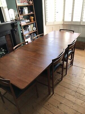 Mcintosh Dining Table - Extendable - 6 Chairs - Mid Century - Teak - VGC