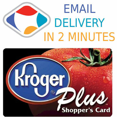 ⛽ 2400 Kroger Fuel Points Save $84 on Gas Exp 8/31/2019 - Instant Delivery