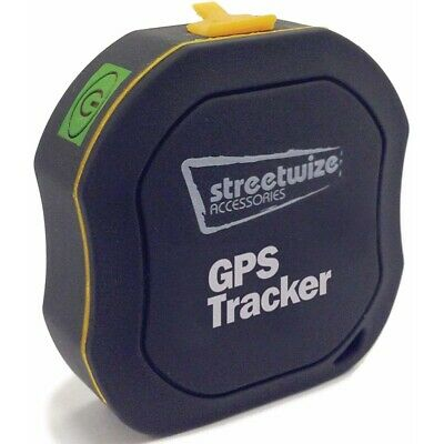 Streetwize Vehicle Car Caravan GPS Tracker for Up to 10 Meters Subscription Free