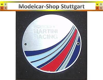 Porsche Martini Racing Grill Badge Club Plakette Limited Edition fabrikneu