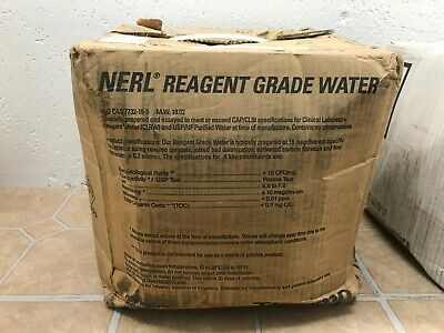 5 Gallons NERL Reagant Grade Water Thermo Scientific 9800-5
