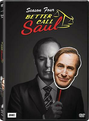 Better Call Saul Complete Season 4 TV Series Fourth Collection DVD Box Set New