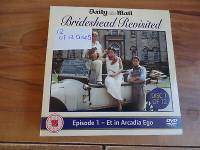 Brideshead Revisited DVD Collection - 12 of 12 Discs - Excellent condition