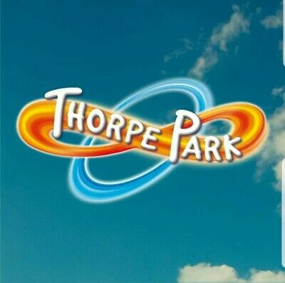 Thorpe Park Tickets x 2 eTickets Saturday 7th September