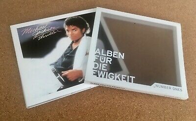Michael Jackson Thriller CD Rare Germany 2013 No Promo Like New Slip Case