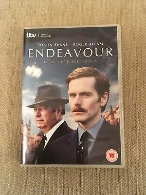 Endeavour Series 6 Complete DVD