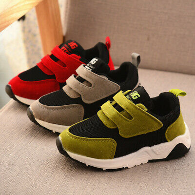 2019 Boys Girls Toddler Baby Soft Students Casual Children Sports Shoes Sneakers