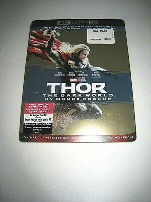 Thor The Dark World (4K Ultra HD slip cover only)No Disc No Blu Ray