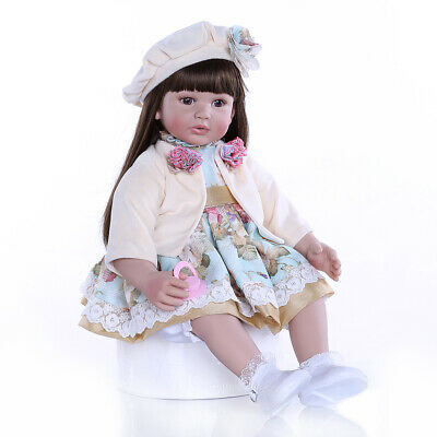 2019 New Reborn Baby Dolls Toddler Girl Reborn Dolls Real Life Child Playmate