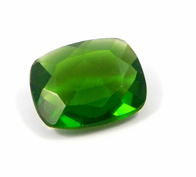 Treated Faceted Emerald Gemstone 36CT 25x20x8mm  RM17924