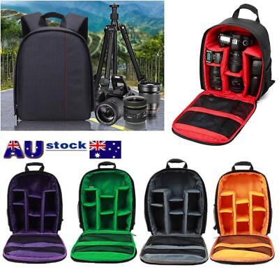 Waterproof Shockproof DSLR SLR Camera Bag Backpack Rucksack For Canon Nikon Sony