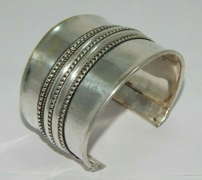 AAA Great Designer Tibetan German Silver Handmade Cuff Fashion Jewelry C119