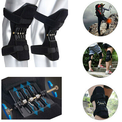 1 Pair Patella Booster Spring Knee Brace Support for Mountaineering Squat