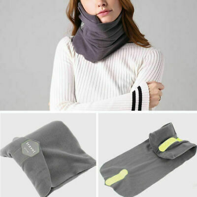 AOOU Travel Pillow Portable Soft Neck Support Perfect for Any Sitting Position