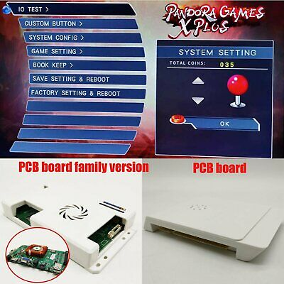 2600 in 1 HD Pandora's Box Jamma Arcade Game PCB VGA/HDMI Board Motherboard PC