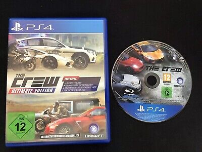 The Crew - Ultimate Edition (Sony PlayStation 4, 2016)