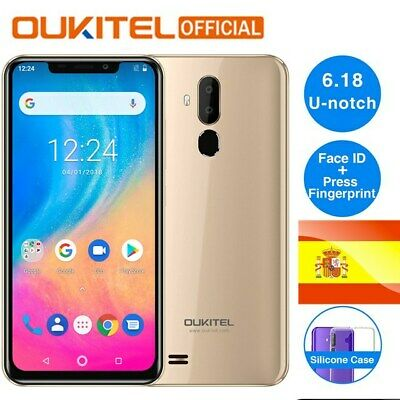 OUKITEL C12 Android 8.1 2GB 16GB Face ID Fingerprint 3G Smartphone Teléfono HOT