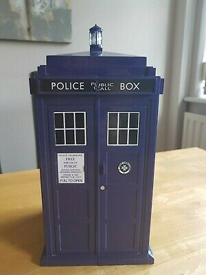 Doctor Who Battles In Time Trading Cards Tardis Card Holder Excellent