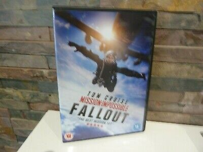 Mission Impossible : Fallout (Tom Cruise) Dvd  - Fast/Free Posting.