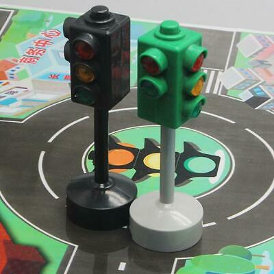 Red Green Light Signal Stop Light Traffic Crosswalk Puzzle Education Toy for Kid