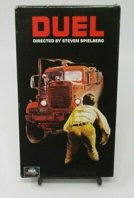 Duel Vhs Video Movie, Dennis Weaver, Steven Spielberg Film, Unrated Classic, Guc