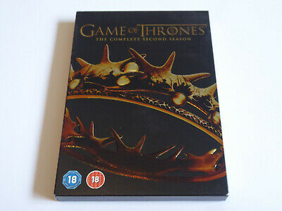 Game Of Thrones - The Complete Second Season 2 - GENUINE UK DVD SET - Series Two