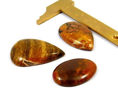 73 Cts. 100% Natural Camel Jasper Lot Loose Cabochon Gemstone NG21076
