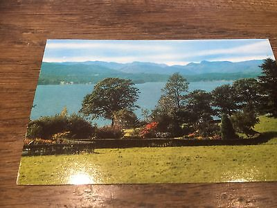Lake Windermere Westmorland Cumbria Lake District Colour Real Photo Postcard