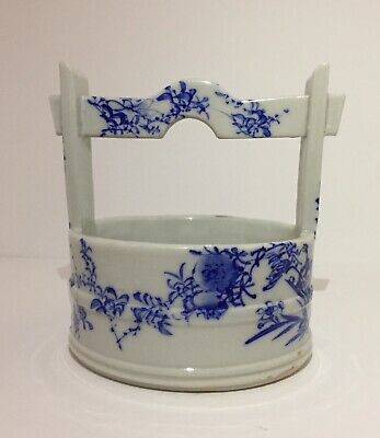 Antique Chinese Ceramic Well bucket Wishing Well Fresh Cold Water Tea Ceremony