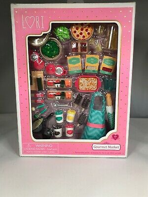 BARBIE FIT~LORI OUR GENERATION GOURMET MARKET PLAY FOOD for DOLLS
