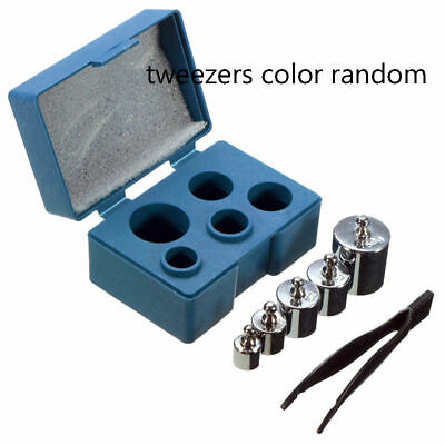 5Pcs 100g Grams Precision Calibration Weight Measurement For Digital Scales Tool