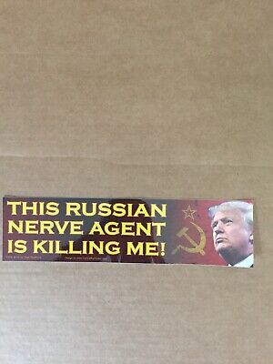 Trump/Russia Collusion Bumper Sticker