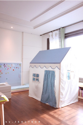 Handmade Teepee Cubby House Event Kids Play Tent Decor Photography prop