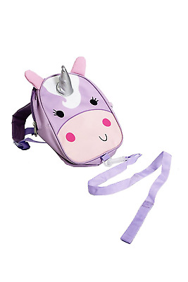 Red Kite Child Mini Rucksack /Toddler Backpack with Detachable Reins - Pink