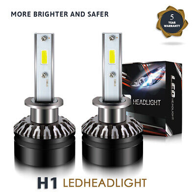 for NISSAN 350Z 2003-2005 LED Headlight Kit H1 6000K 12000LM High Beam Bulbs DTH