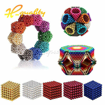 216PCS 3/5mm Magic Magnets Ball Neodymium Sphere 3D Puzzle Cube Stress Relief