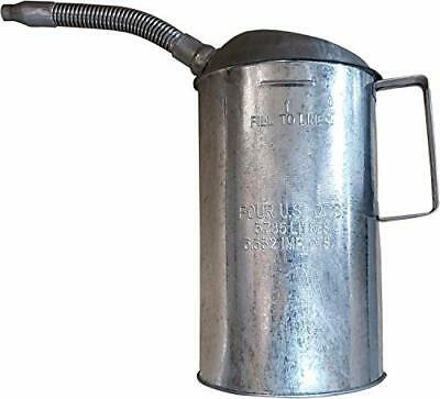 Plews LubriMatic 75-444 Galvanized Measure Can with Flexible Spout