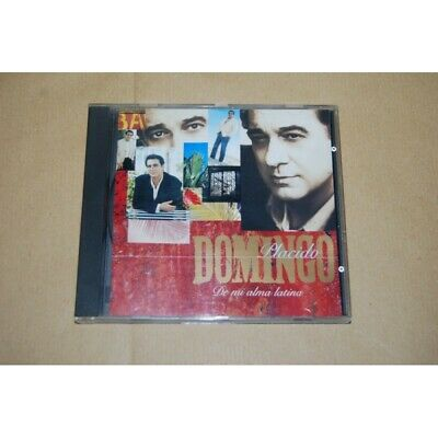 CD Placido Domingo De Mi Alma Latina cat. 7243 5 55263 2 8 - usato...