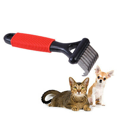 Pet Dog Cat Combs Long Thick Hair Fur Shedding Remove Grooming Rake Comb Brush