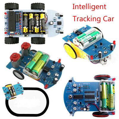 Intelligent Tracking Smart Car DIY Kit Vehicle Obstacle Avoidance Tracking Suite