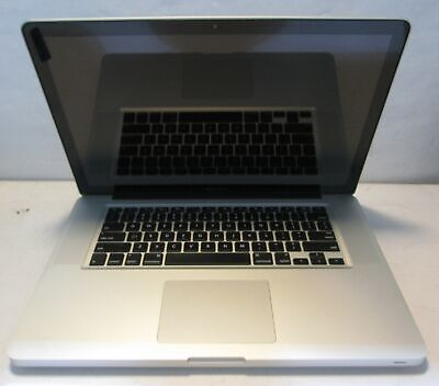 """Apple Macbook Pro 5,3 A1286 (2009) 15"""" Laptop Core 2 Duo T9900 3.06GHz 320GB HDD"""