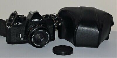 Vintage Cosina Ct-1A Slr Camera With Case