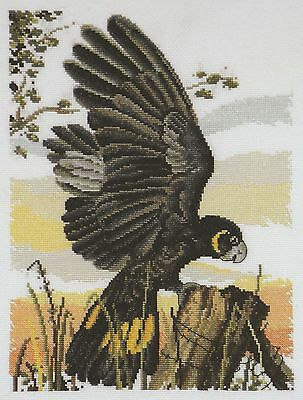 Black Cockatoo Cross Stitch Chart - Country Threads