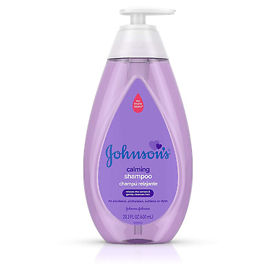 Johnson's Calming Baby Shampoo with Soothing NaturalCalm Scent, 20.3 fl. oz